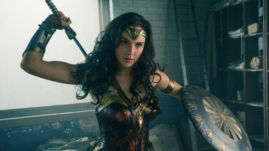 """Gal Gadot w tytułowej roli w filmie """"Wonder Woman"""""""