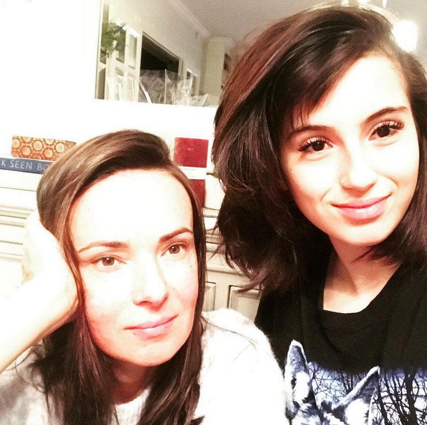 Kasia Kowalska z córką Olą Kowalską