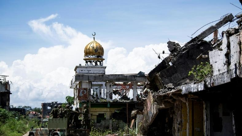 Residents of Marawi, a southern city in the Philippines, are becomign fustrated by the 'painfully' slow reconstruction