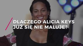 Alicia Keys bez makijażu. Dlaczego już się nie maluje?