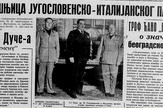 "Naslovna strana ""Vremena"" iz 1938. godine"