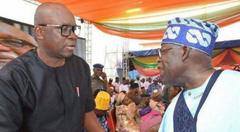 Fayose: 'I have no interest in Tinubu's 2023 presidential ambition'