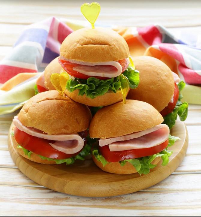 Mini burgeri