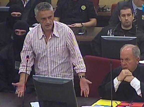 Zijad Turković na suđenju