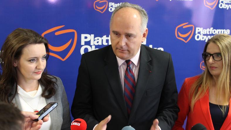 Marzena Okła-Drewnowicz, Paweł Zalewski i Joanna Winiarska