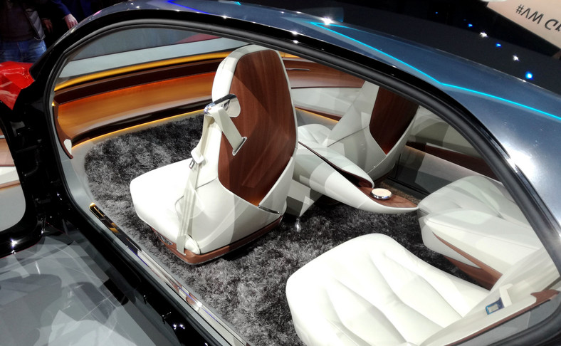 Volkswagen I.D. VIZZION - samochód autonomiczny 5. poziomu