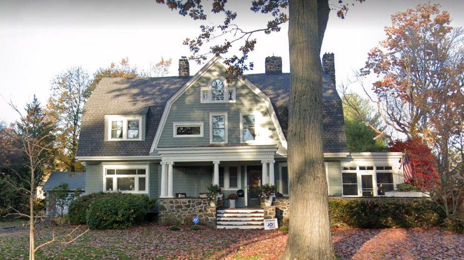 Dom, który obserwował nieznajomy bądź nieznajoma - widok z Google Street View