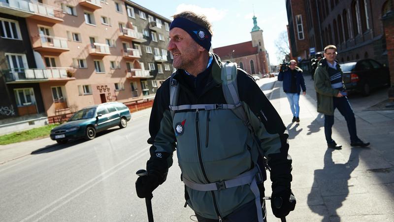 Marek Kamiński w Gdańsku