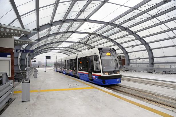 Fot. 2 Swing Pesy na nowej trasie tramwajowej w Bydgoszczy