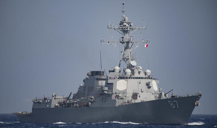 Američki razarač brod