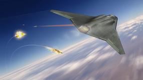 Laserowa broń dla myśliwców