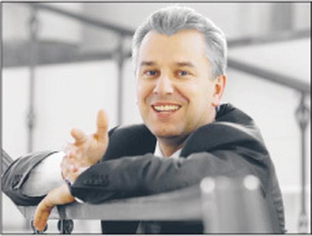 Cezary Grabarczyk, jest ministrem infrastruktury Fot. Marcin Łobaczewski