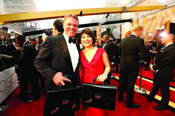 Brajan Kalinan i Marta Ruiz