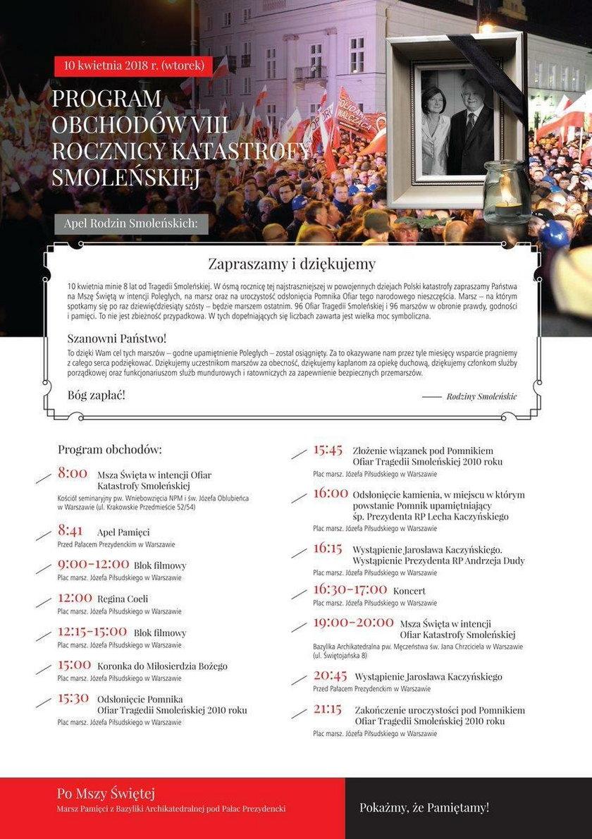 10 kwietnia odsłonią pomnik