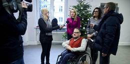 Winda dla niepełnosprawnych w łódzkim magistracie
