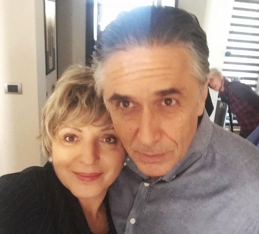 Mirjana Karanović i Peđa Bjelac