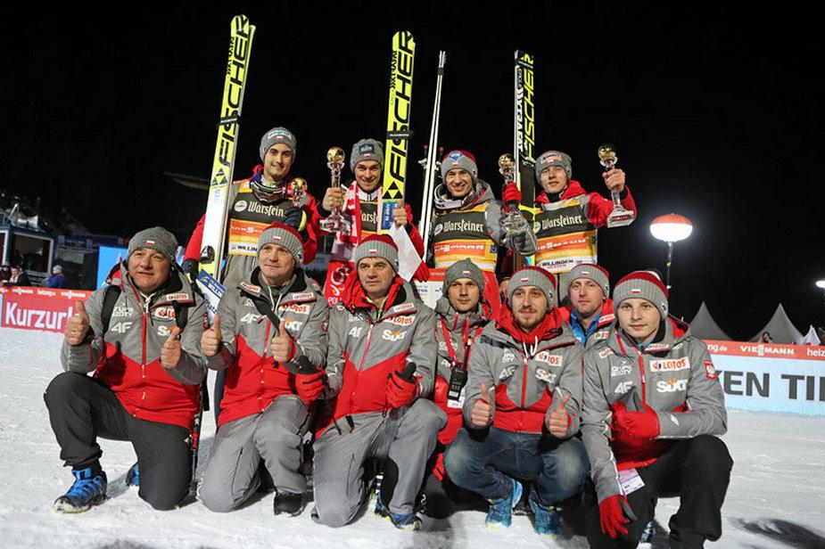 28.01.2017 - Polska drużyna w Willingen