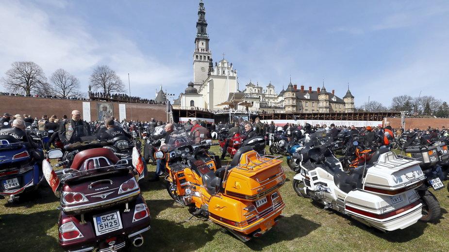 W niedzielę nie będzie kolejnego masowego zjazdu motocyklistów na Jasnej Górze