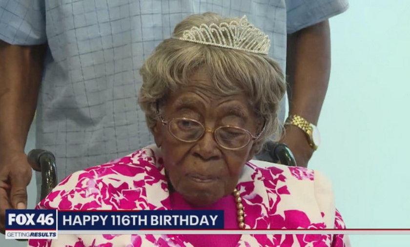 Najstarsza kobieta w USA skończyła 116 lat!