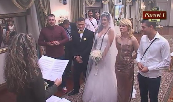 Aleksandra Subotić i David venčanje