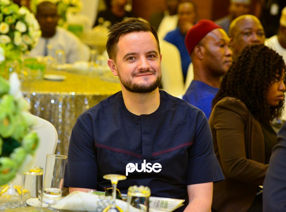 Managing Director, Sales & Operations RADP, Mark Slade at Glo unveil event which held at Eko hotel & suites, Victoria Island Lagos on Friday, February 1, 2019.
