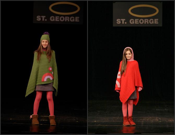 Devojčice vole jarke boje