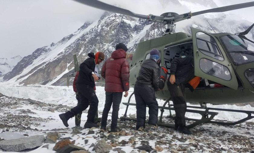 Nowe informacje w sprawie Polaka rannego pod K2