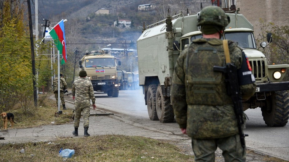 Azerskie wojska na terenie Górskiego Karabachu