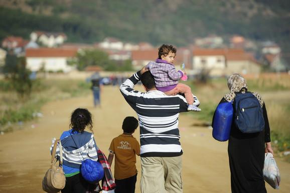 Migranti na Balkanskoj ruti ka zapadnoj Evropi