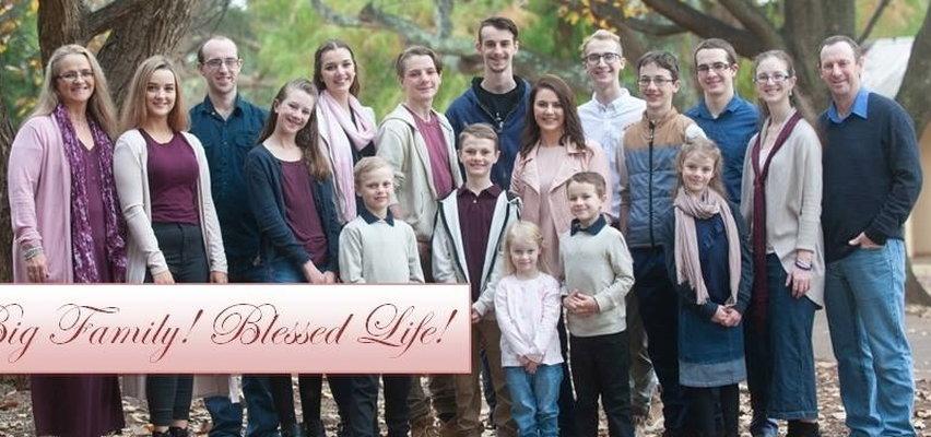 Urodziła 16 dzieci i zapowiada, że to nie koniec. Chce mieć ich jeszcze więcej