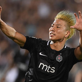 PREVARA?! Takuma Asano svojevoljno napustio Partizan samo da bi se desilo - OVO?!