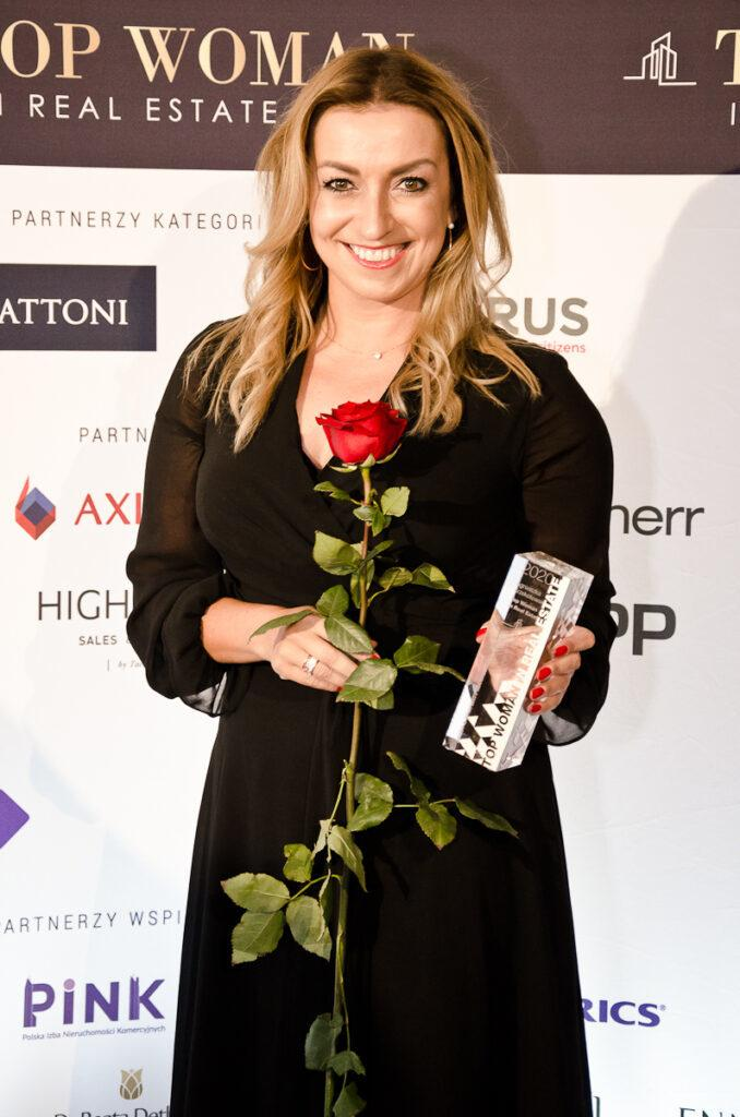 Agnieszka Krzekotowska – laureatka Top Woman in Real Estate w kategorii Asset & Property Management
