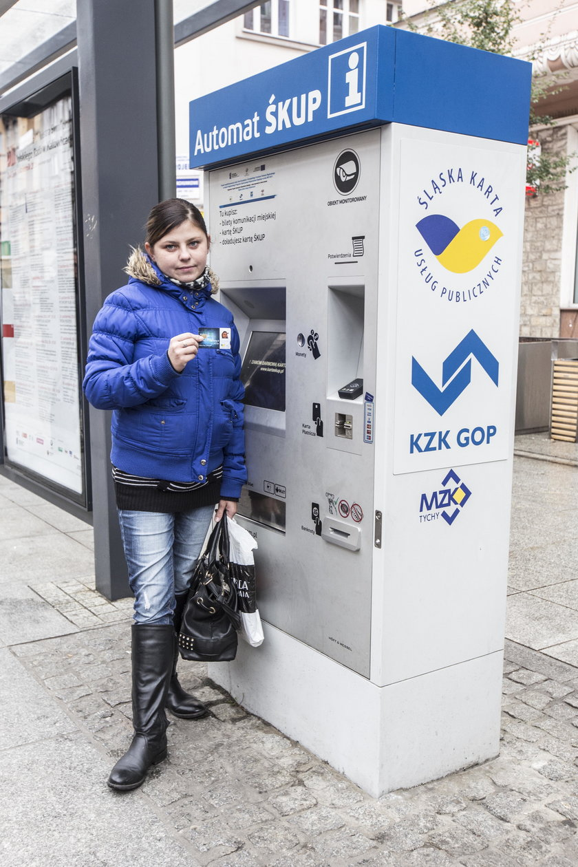 Monika Kozub (30 l.), pasażerka
