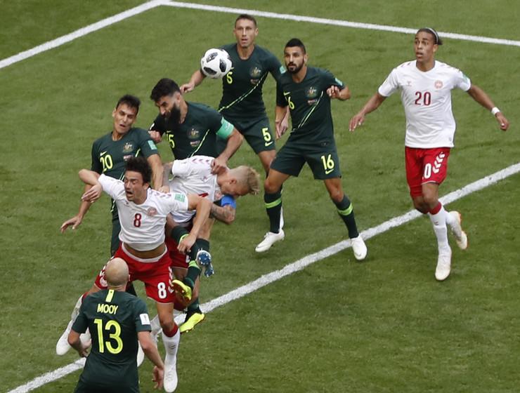 Fudbalska reprezentacija Danske, Fudbalska reprezentacija Australije