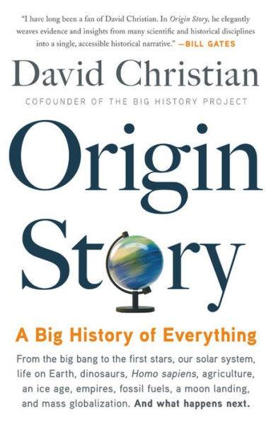 """Origin story: A big history of everything"""
