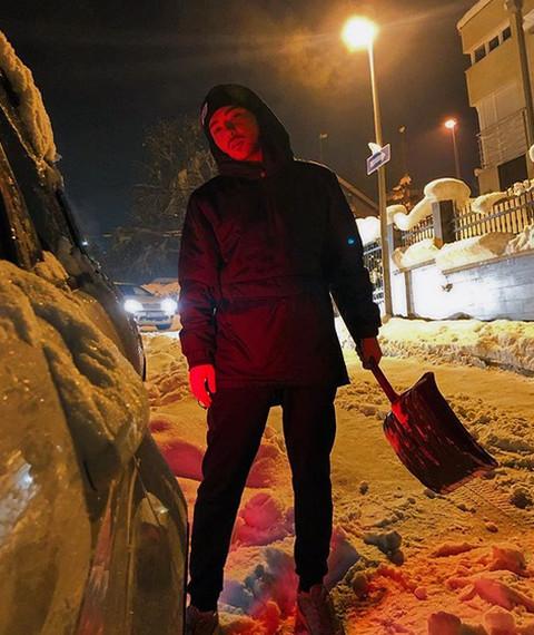 Milan Stanković se iznervirao zbog snega, pa ŽESTOKO opsovao! VIDEO
