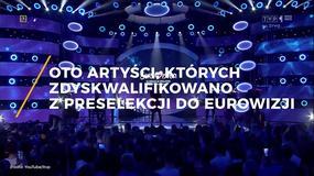Artyści, których zdyskwalifikowano z eliminacji do Eurowizji
