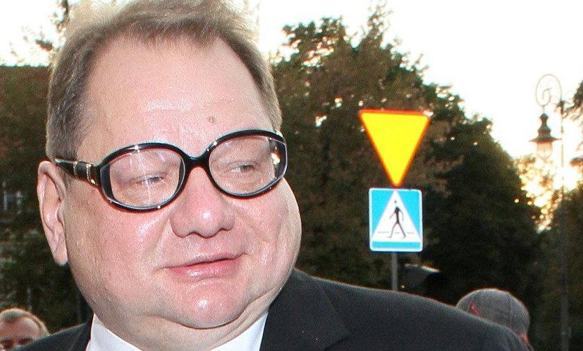 Ryszard Kalisz ma nowe okulary.