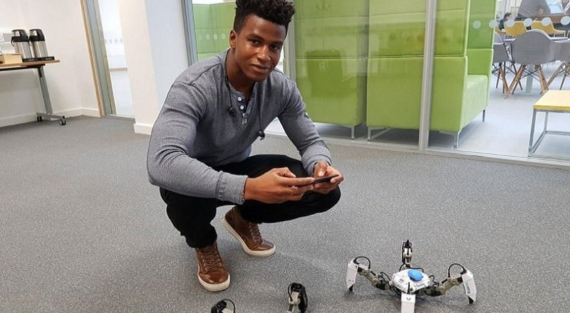 Silas Adekunle, the Nigerian robotics engineer who built the world's first gaming robots, shuts down his company nearly two years after launching into mass retail markets