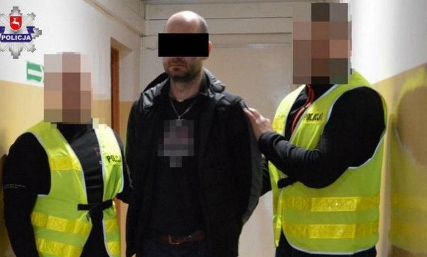 Gangster ukradł z banku 7 tys. zł, ale krótko cieszył się łupem