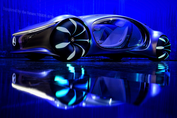 Mercedes-Benz Vision AVTR EPA/SASCHA STEINBACH Dostawca: PAP/EPA.