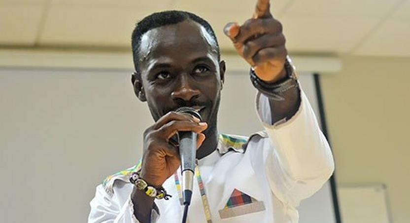 Okyeame Kwame says people should accept small beginnings