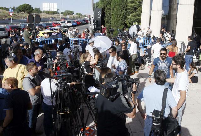 Novinari ispred suda u Madridu su uzalud čekali Ronalda
