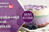 """Samo uz """"Blic"""" novi kuvar """"Voćne lila poslastice"""""""