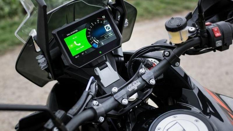 Bosch Integrated Connectivity - zegary pozwalające na połączenie motocykla ze smartfonem