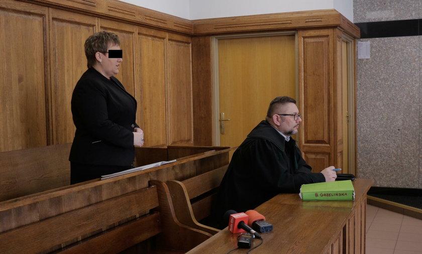 Barbara Grzelińska (46 l.), oskarżona