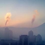 Užice, zagađenje vazduha, magla, smog