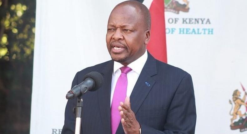 Health through CS Mutahi Kagwe