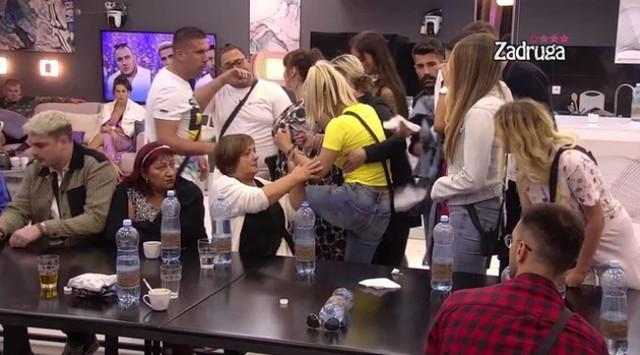 Milica Kemez i Dragana Mitrović Spasojević, svađa u Zadruzi 4