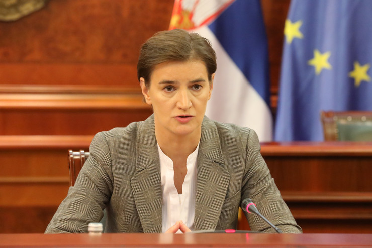 Ana Brnabić TANJUG VLADA REPUBLIKE SRBIJE SLOBODAN MILJEVIC